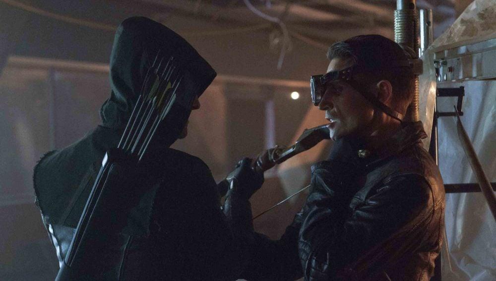Oliver Queen y Deadshot