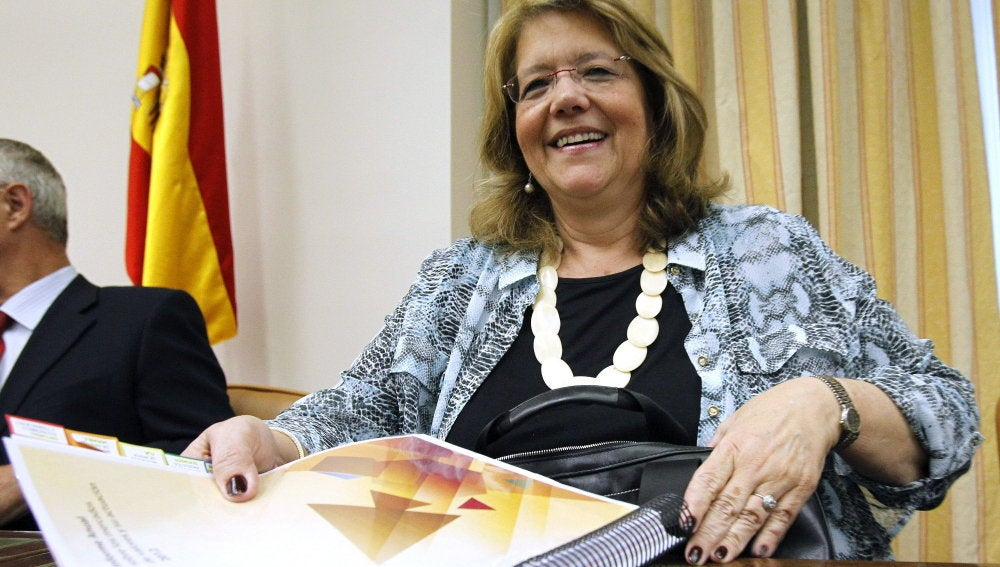 Elvira Rodríguez, presidenta de la CNMV