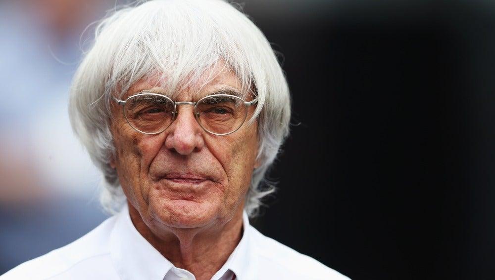 Bernie Ecclestone, patrón de la F1