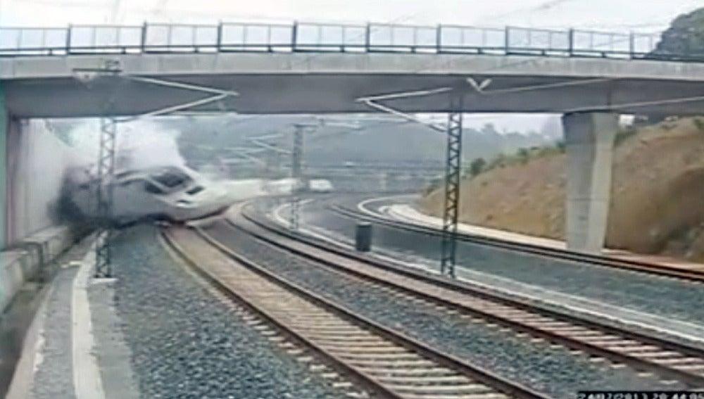 Accidente tren Santiago