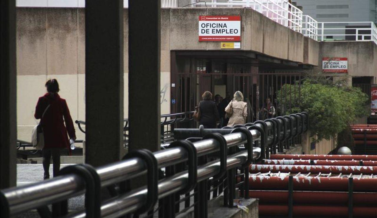 Oficina del paro en Madrid