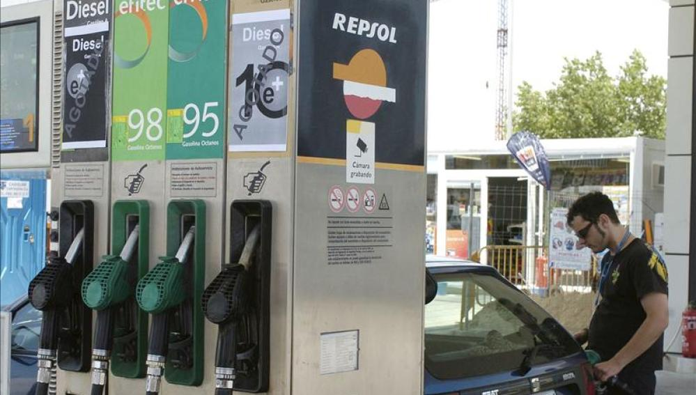 El litro de este combustible se sitúa en la actualidad en 1,428 euros