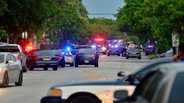 Coches de la Policía de Miami