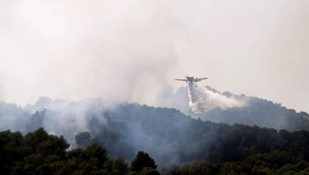 Incendio de Andratx.