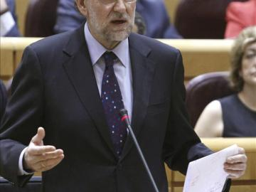 Rajoy, ante el Pleno del Congreso