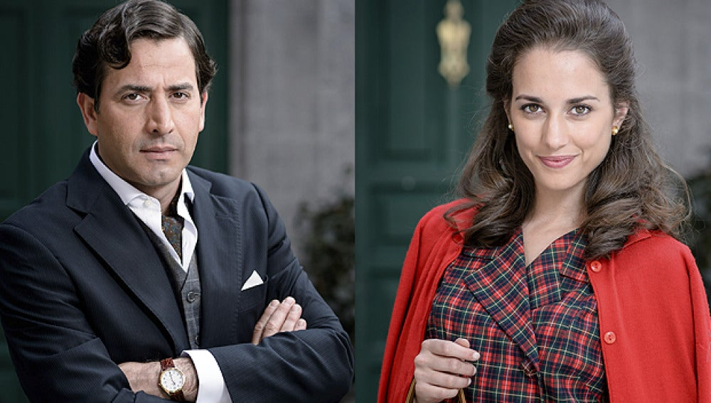Antonio Garrido y Sara Alonso