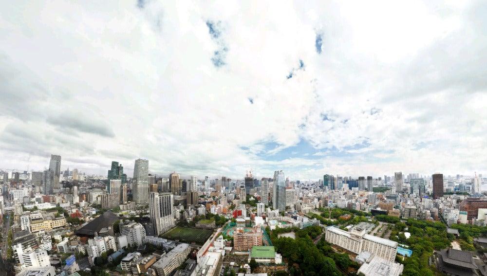 Imagen panorámica de Tokio