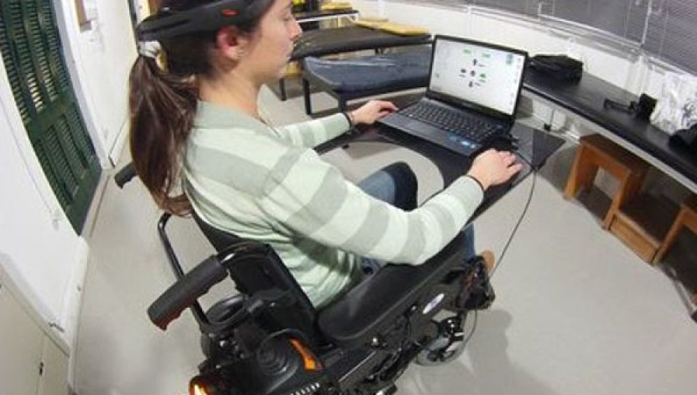 Prototipo de la silla de ruedas