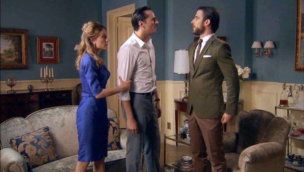 Rubén y Diego enfrentados