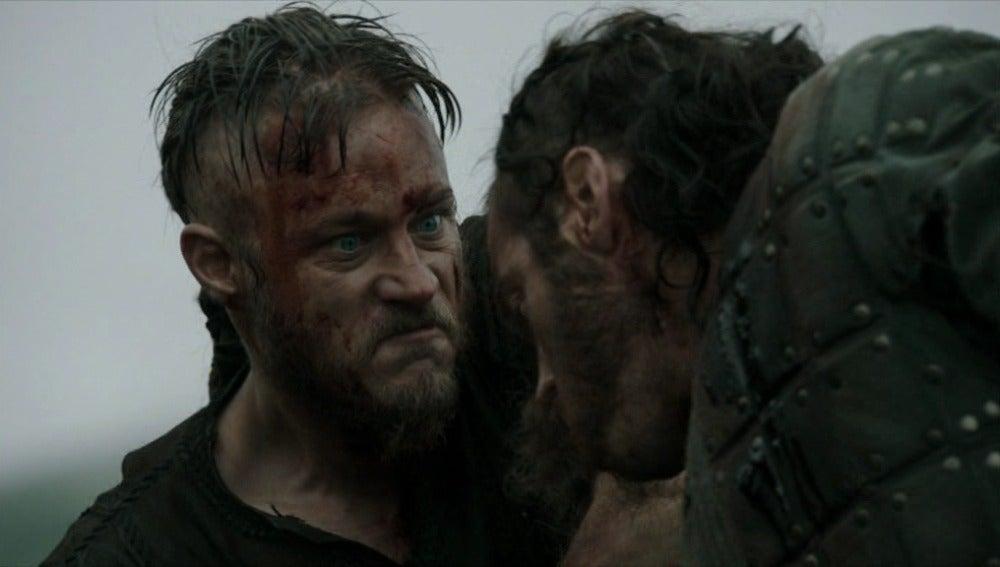 Empieza la batalla en Vikingos