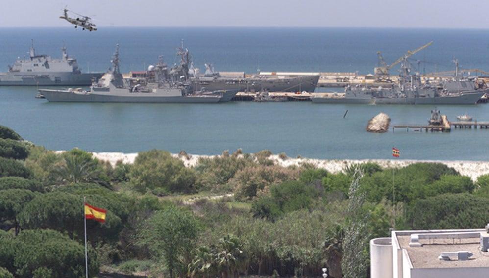 Base Naval de Rota, Cadiz