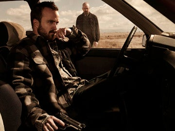 Jesse Pinkman (Aaron Paul) y Walter White (Bryan Cranston)