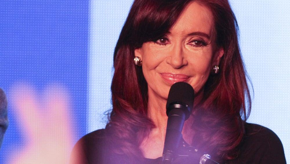 Cristina Fernández tras conocer los primeros resultados