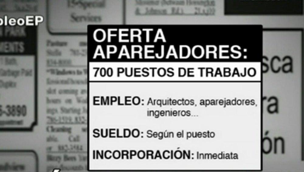 Antena 3 tv se ofrecen 700 puestos de trabajo para - Trabajo para arquitectos en espana ...