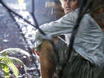 Oliver durante su estancia en la isla