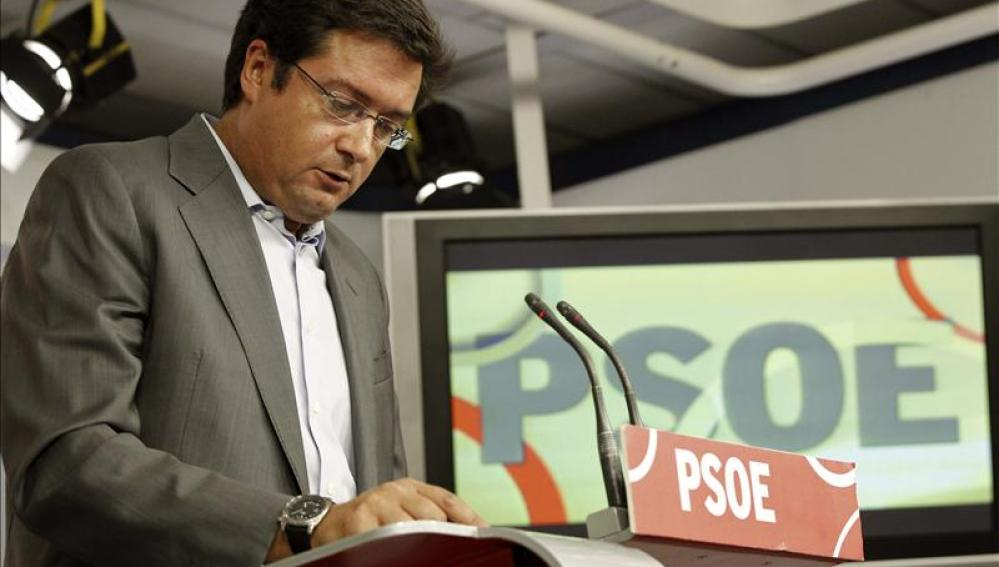 Óscar López, secretario General del PSOE