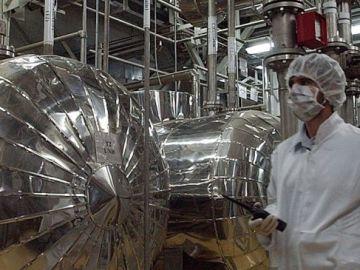 Centrifugadoras de uranio Irán