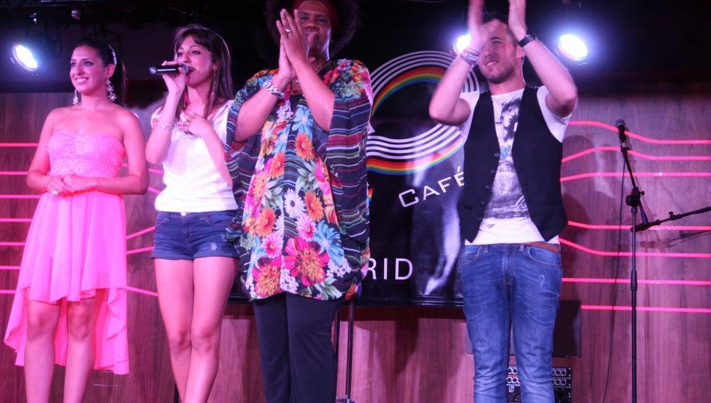 Maribel, Emma, Telva y Josh deleitaron a todo el público presente