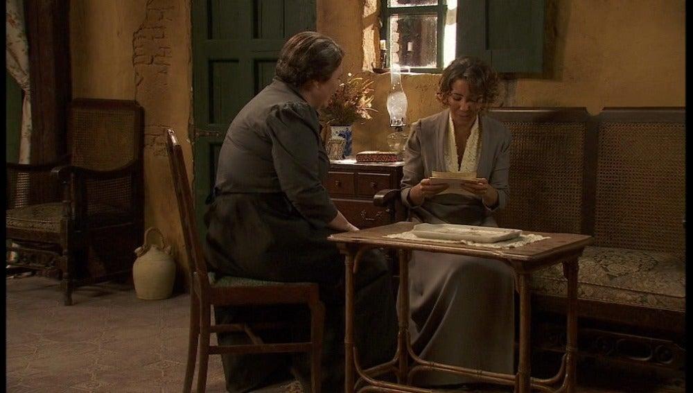 Llega una carta de Nieves