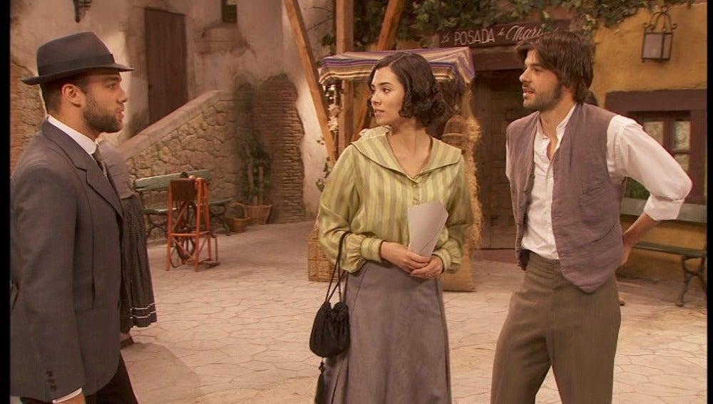 María y Gonzalo, pillados por Fernando