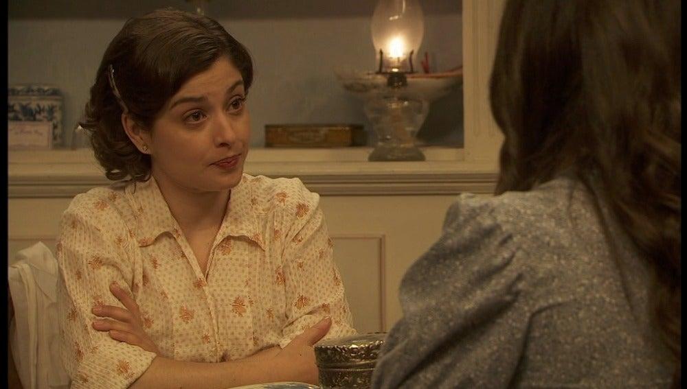 Aurora habla con Candela sobre Tristán