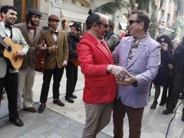 Primera boda gay pública en Uruguay