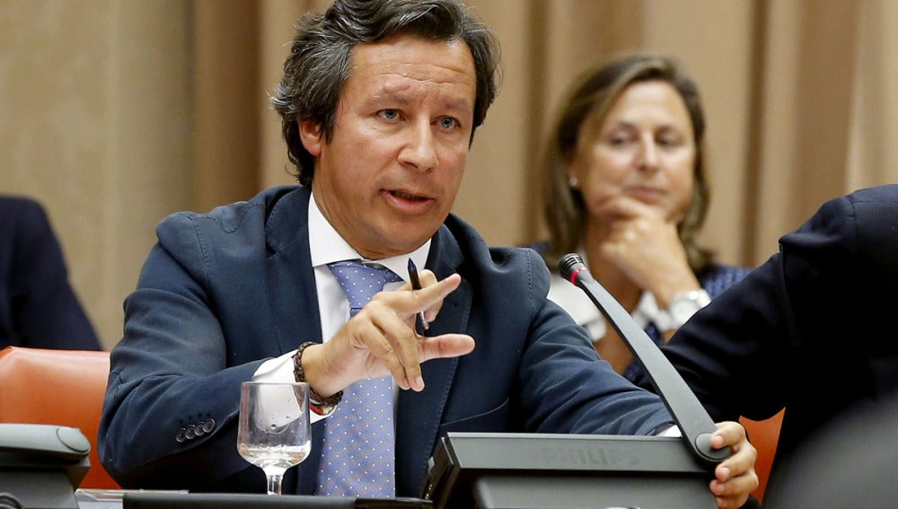 Carlos Floriano, en el Congreso