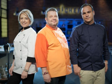 El jurado de Top Chef