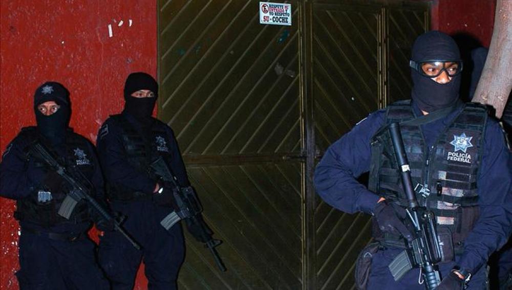 Operación contra el narcotráfico en México