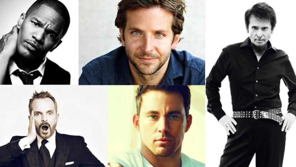 Jamie Foxx, Channing Tatum, Raphael, Miguel Bosé, y Bradley Cooper estarán en 'El Hormiguero 3.0'