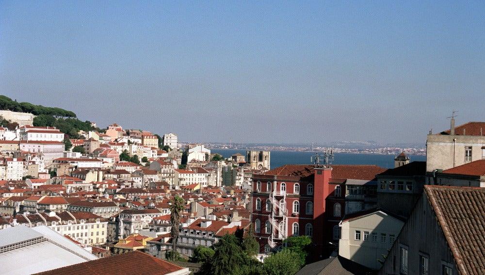 Vista panorámica sobre la ciudad de Lisboa