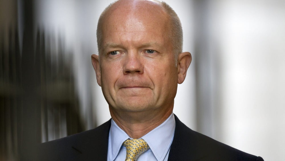 William Hague, ministro británico de asuntos esteriores