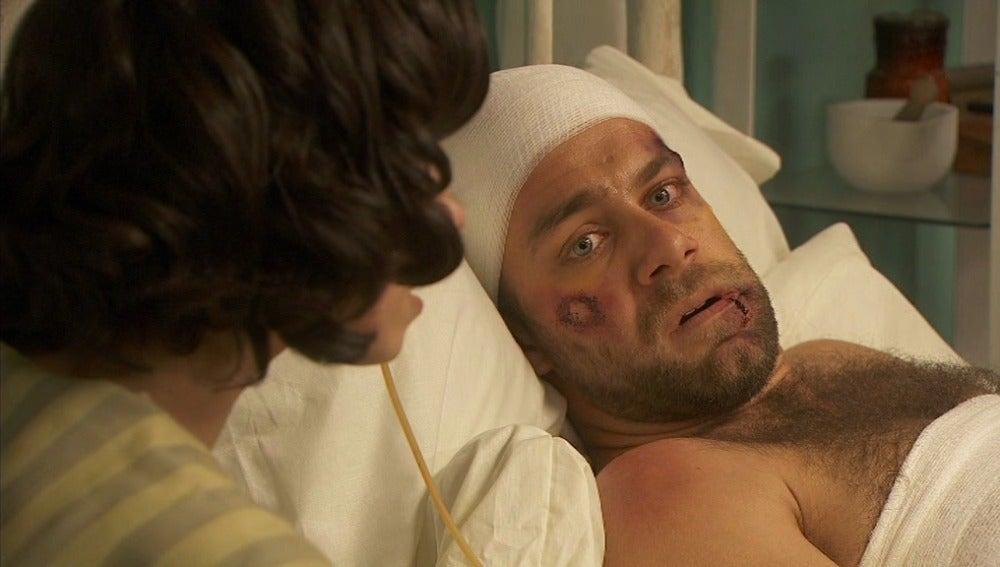 María cuenta lo que pasó a Fernando