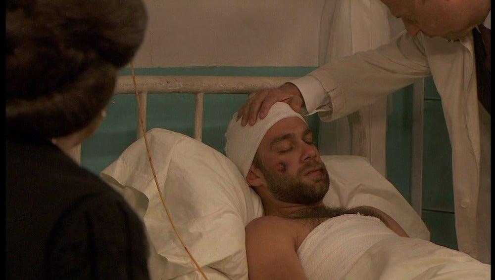 Fernando en el hospital
