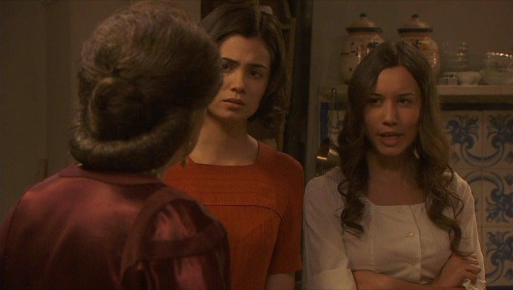 Francisca, María y Aurora