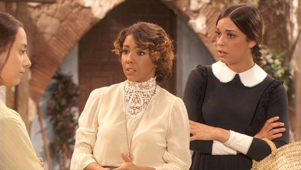 Quintina, Emilia y Mariana