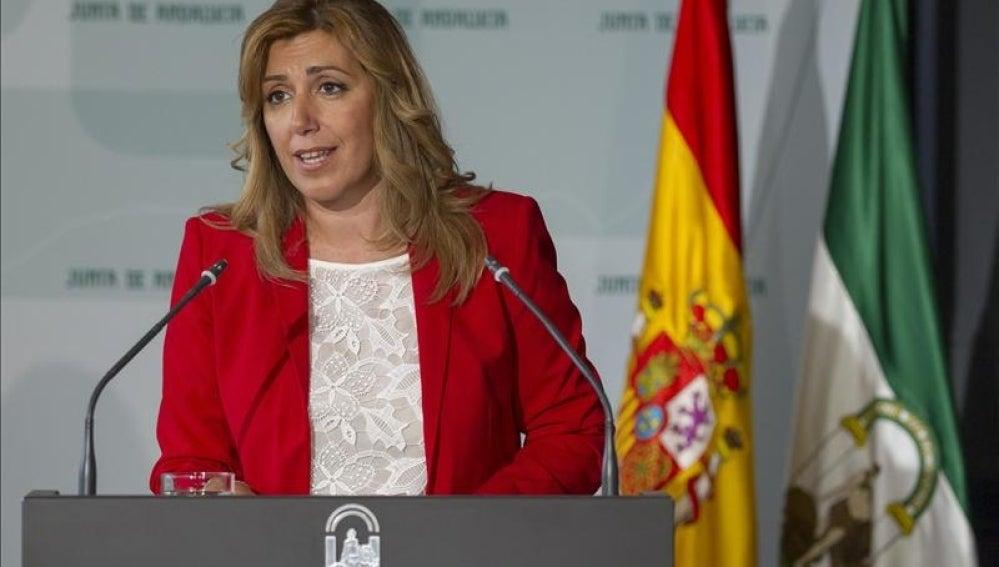La presidenta de Andalucía Susana Díaz.