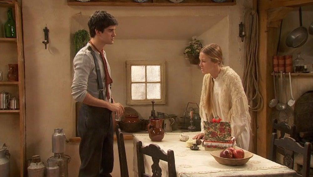 Rita abronca a Isidro