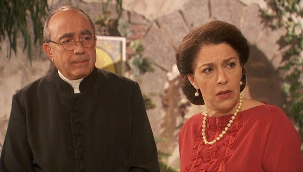 Don Anselmo y Francisca