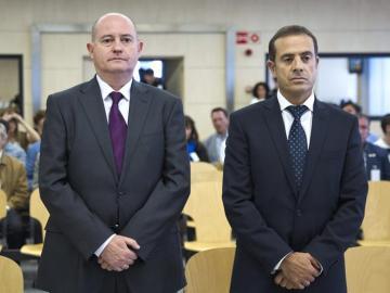 Pamies y Ballesteros, en el juicio por el caso Faisán