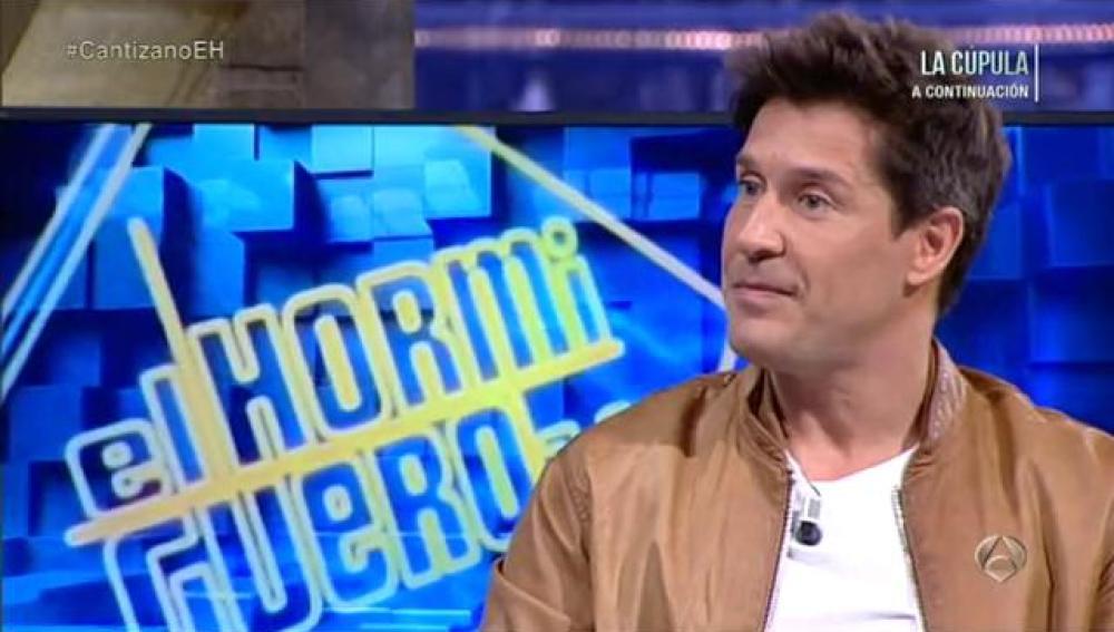 Jaime Cantizano en El Hormiguero 3.0