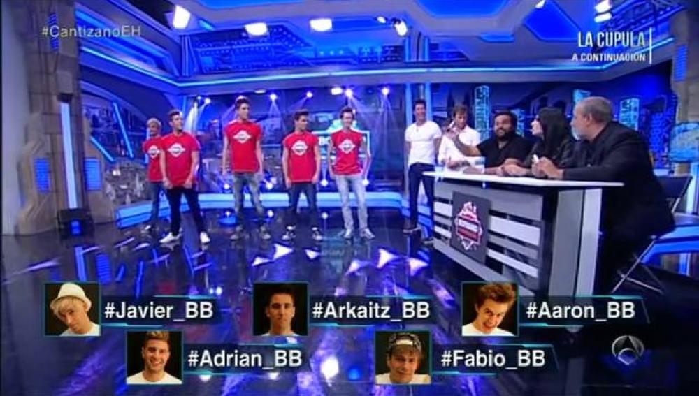 Finalistas de la Boy Band de El Hormiguero 3.0