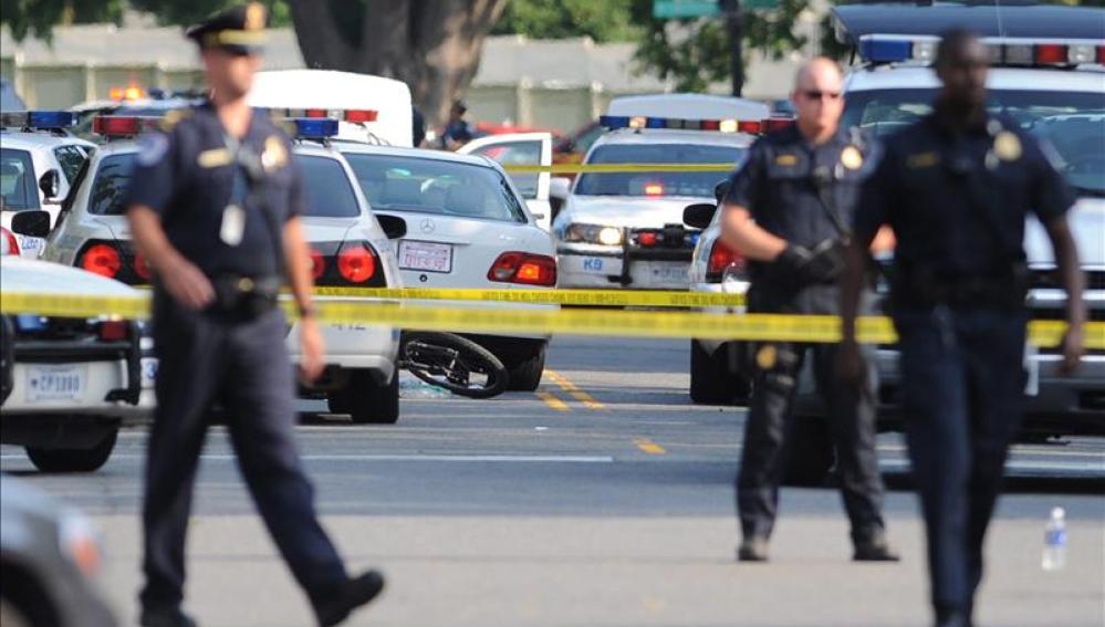 La Policía de Washington acordona la zona