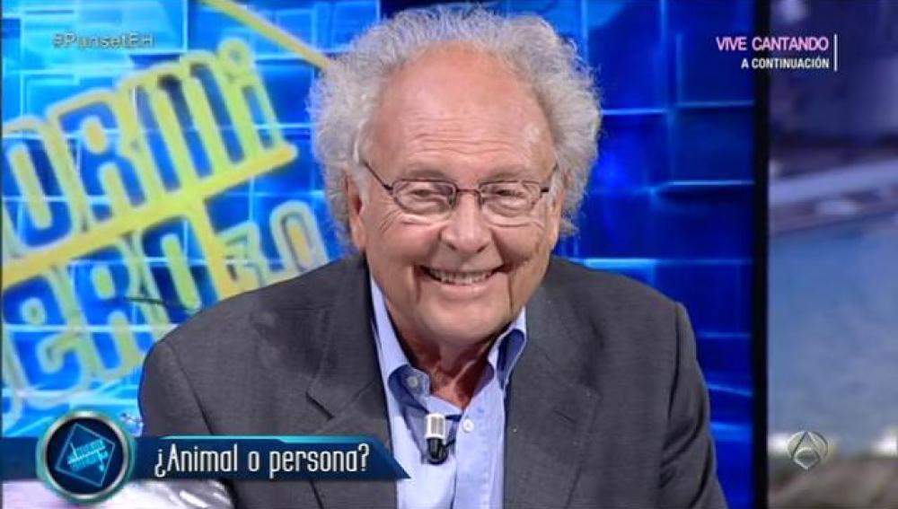 Eduard Punset en el Hormiguero 3.0