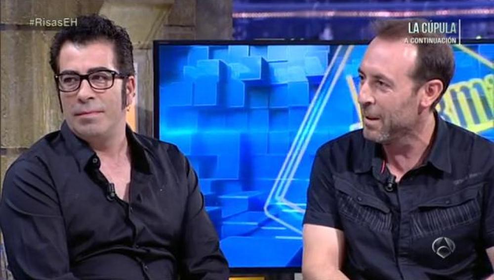 Agustín Jiménez y Antonio Molero en El Hormiguero 3.0
