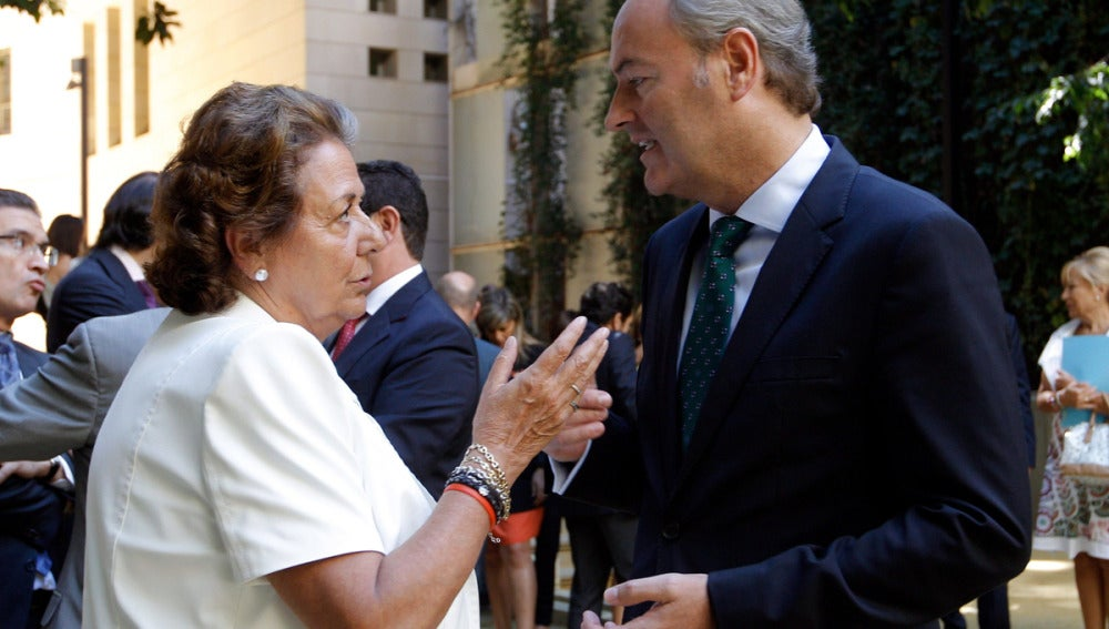 Fabra y Barberá conversan en Valencia