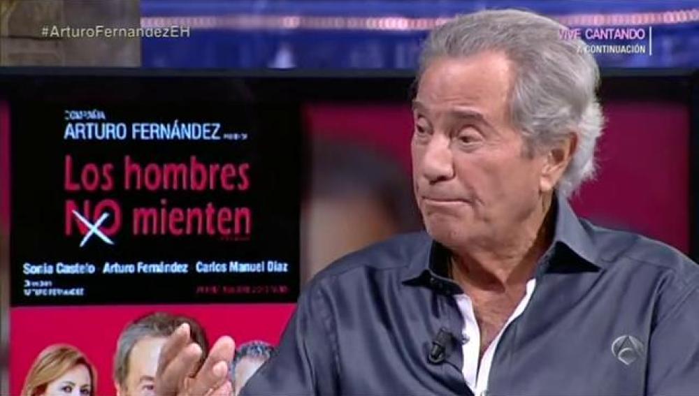 Arturo Fernández en El Hormiguero 3.0
