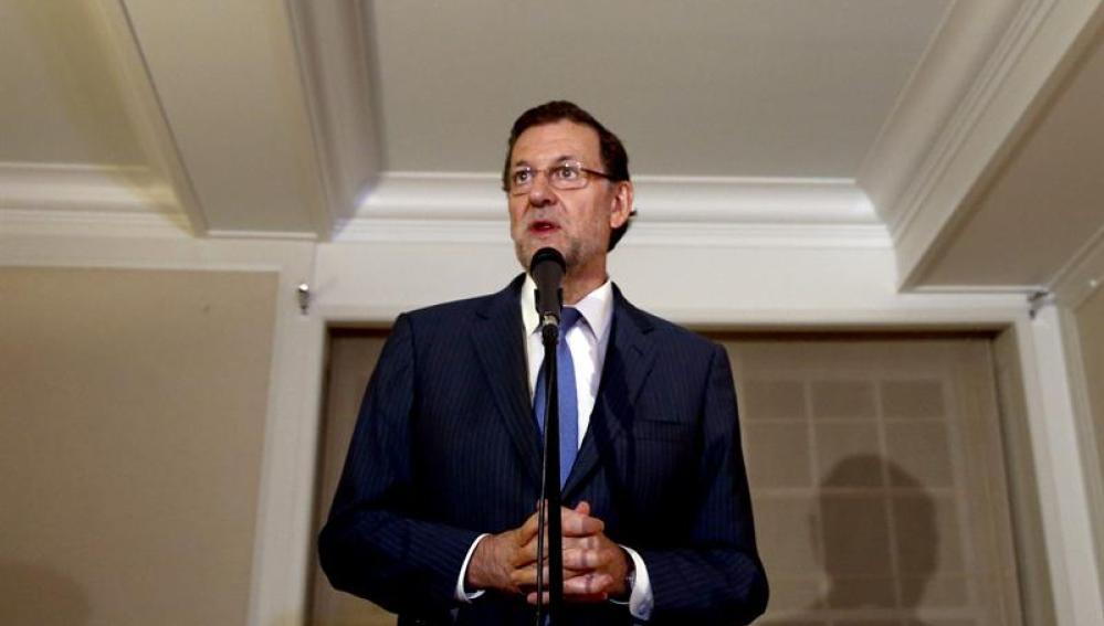 Rajoy, desde Nueva York
