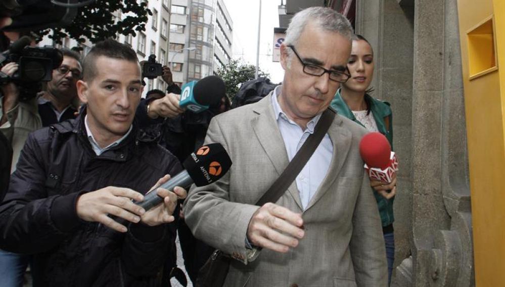 El periodista Alfonso Basterra, padre de la niña