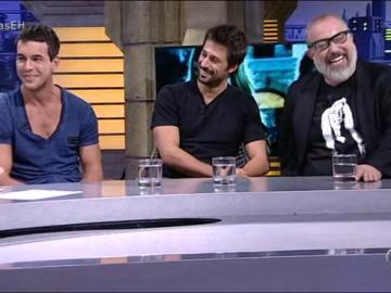 Alex, Hugo y Mario en El Hormiguero 3.0